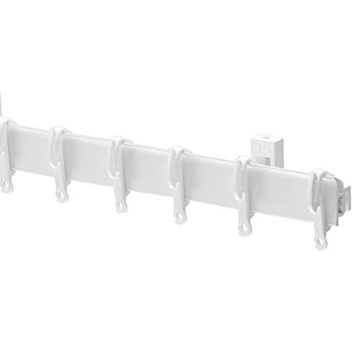 Swish Sologlyde Curtain Track Set, White, 250 Cm