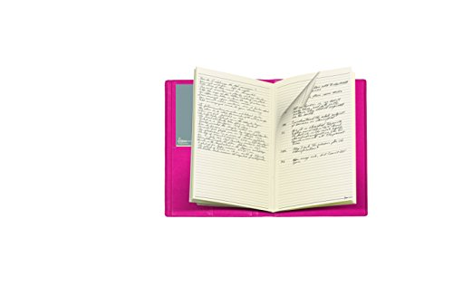 Filofax 856018 Smooth Notizbuch Cover A4, pink