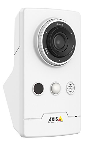 AXIS 0810-002 Network Surveillance Camera, White