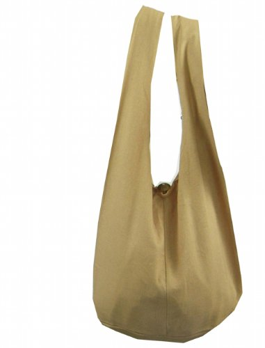 "BenThai Products, Borsa a spalla donna turchese Turquoise Height 12"" Beige"