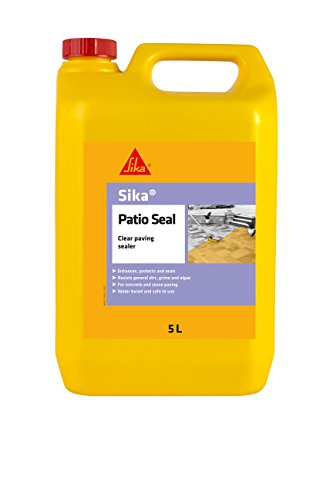 Sika Patio Seal - Clear paving sealer - 5L - Clear