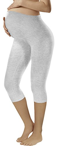 Italian fashion if leggings premaman 3/4 (mélange, l)