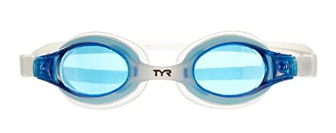 TYR Swimple Youth Goggle (Blue/Translucent Clear)