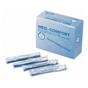 Med-Comfort Einmal Zahnbürsten – 100 Stück