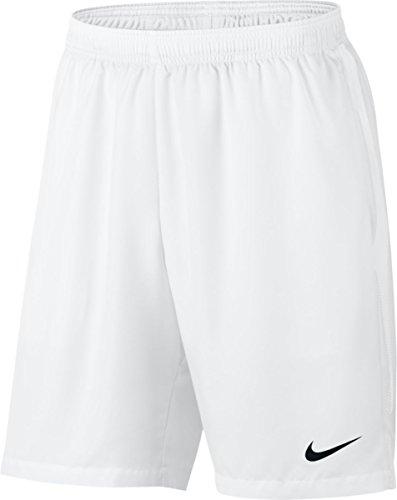 Nike Herren Court Dry 9In Short, White/Black, XL
