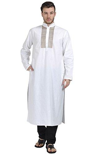 East Essence - Robe - Solid - Femme Blanc - Blanc