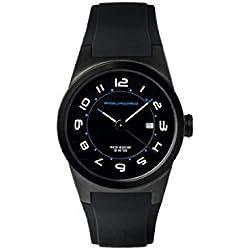 Orologio Piquadro Wwwatch nero donna in acciaio con datario, diametro 34 mm, impermeabile fino a 5 ATM OR1007WW/N