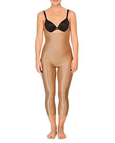 Spanx Damen SYF Open-Bust Catsuit M Formender Body, Beige (Broadway Beige 000), 38 (Herstellergröße: M)