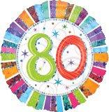 Radiant Birthday 80