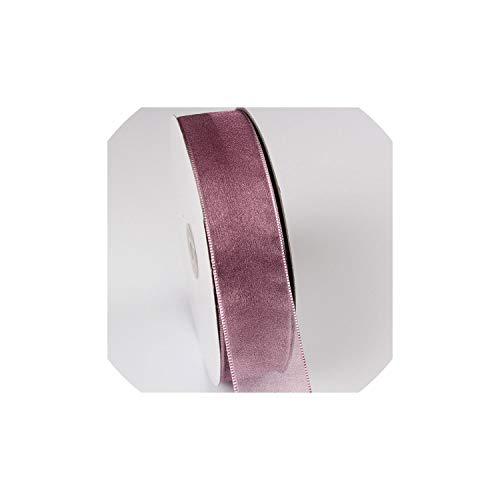10 Meter/Los Schnee Garn Satin-Bänder DIY-Kunstseide-Rosen Crafts Supplies Ripsband Scrapbooking-Material Organza, 0092,40mm (Ripsband Graues)