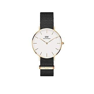 Daniel Wellington Reloj Analógico para Mujer de Cuarzo con Correa en Nailon DW00100253