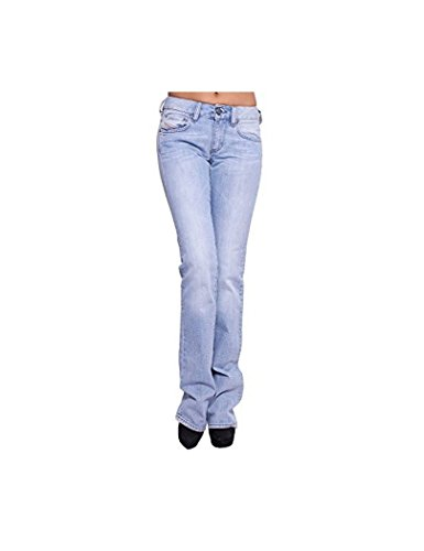 Diesel - Diesel Mujer Jean Ronhary Azul Vaquero Slim Fit Bootcut Stretch Denim - 29, Blau