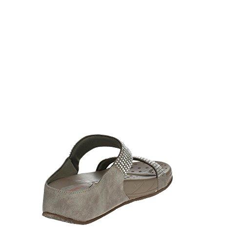 Pregunta Pwfarris 002 Chaussure Femme Taupe