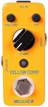 Mooer Yellow Comp–Compressor Pedal para guitarra eléctrica