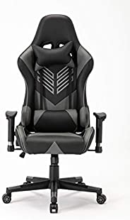 Racing Style Gaming Chair (SEOUL) with Head Pillow and Lumbar Cushion