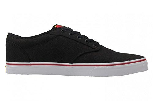 Vans Mn Atwood, Sneakers Basses Homme Schwarz (Rasta)