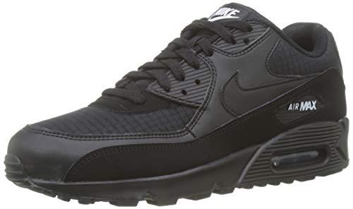 Nike Herren Air Max '90 Essential Gymnastikschuhe, Schwarz (Black/White 019), 44 EU (Air Max 90 Männer Schwarz)
