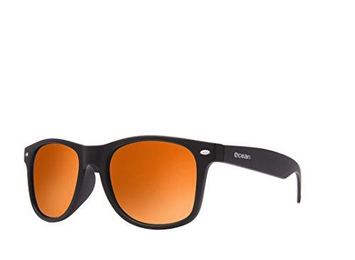 Ocean Sunglasses - Beach wayfarer - lunettes de soleil polarisées - Monture    Marron Mat - ba4ccd1836cb