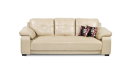 Home City Gloria Three Seater  Sofa (Beige)
