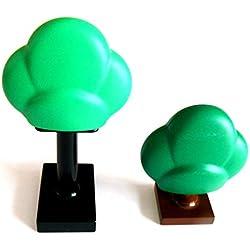 LEGO duplo ® - 2 Bäume - Laubbäume - Laub Bäume