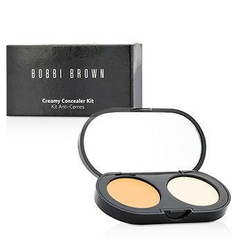 Bobbi Brown - New Creamy Concealer Kit - Natural Tan Creamy Concealer + Pale Yellow Sheer Finish Pressed Powder 3.1g/0.11oz -