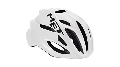 MET Fahrradhelm m3hm103l0bi2, L, weiß, Unisex