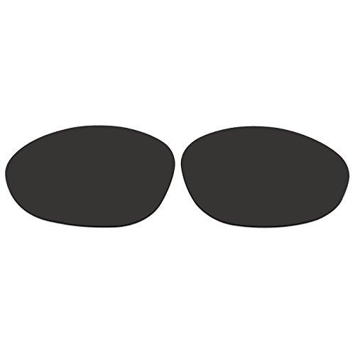 ACOMPATIBLE Ersatz-Objektive für Oakley XX/Old Zwanzig XX (2000Jahr) Sonnenbrille, Black - Polarized