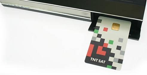 Tarjeta TNTSAT con 4 años de suscripción
