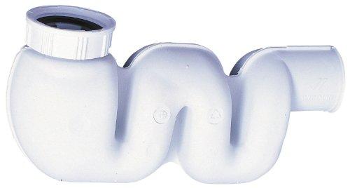Wirquin SP3198Kompakter Spülbecken-Siphon aus flexiblem Material
