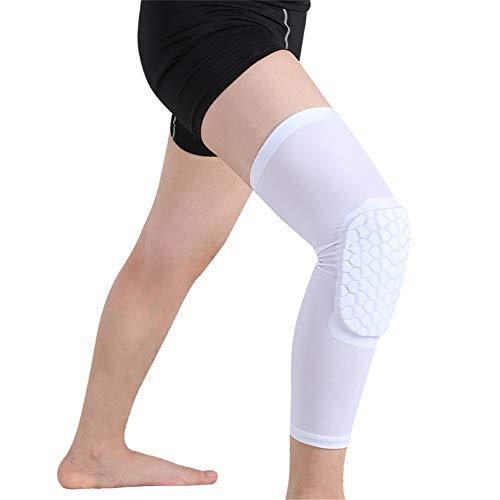 Einstellbare Knieschutz, Kompression Knie Ärmel, Knie Unterstützung, Arthritis Knieorthese, Ideal für Gelenkschmerzen, Arthritis, Laufen und Sport (1 Paar),XXL (Arthritis Für Knieorthese Xxl)