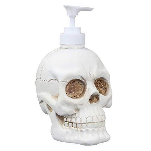 WMC Schädel Gesicht kreative Flasche Flüssigseife Beutel Schaum Seife Abfüllung Duschgel Duschgel Flasche für Haus und Hotel -