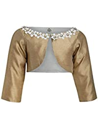 A Little Fable Gold Blush Shrug