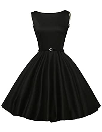 GRACE KARIN® 50s Retro Vintage Rockabilly Kleid Partykleider Cocktailkleider GD6086