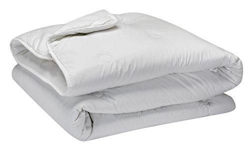 Pikolin Home - Edredón/Relleno nórdico  de fibra, antialérgico, 100% percal de algodón, otoño-invierno...