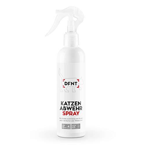 DFNT Katzenabwehr Spray | 250ml Anti Katzen Spray | Katzenschreck & Katzenfalle Alternative | Effektive Katzen Abwehr | Katzenvertreiber Spray
