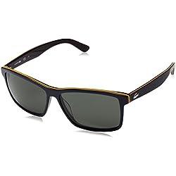 Lacoste Men's L705S 421 57 Sunglasses, Dark Blue