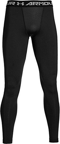 Under Armour Herren Fitness Hose und Shorts CG Leggings Schwarz (Black/White)