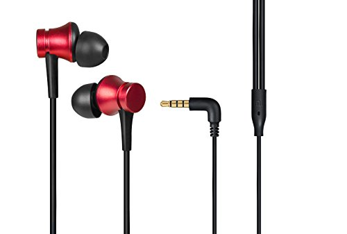 Mi Earphones Basic with Mic (Red)