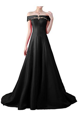 Victory Bridal - Robe - Trapèze - Femme Noir
