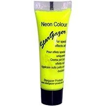 Pintura Neón efectos especiales para cara y cuerpo de Stargazer 10ml (Amarillo)