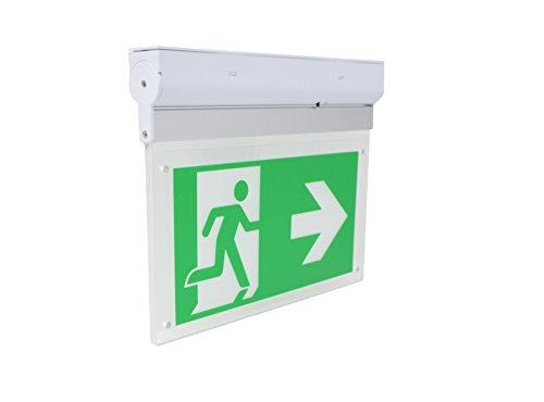 Notleuchte Notausgang Fluchtwegleuchte Notlicht LED Scheibenleuchte JSNL002