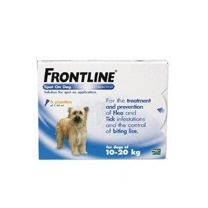 Frontline Spot On 6 Pack For Medium Dogs from Merial Animal Health