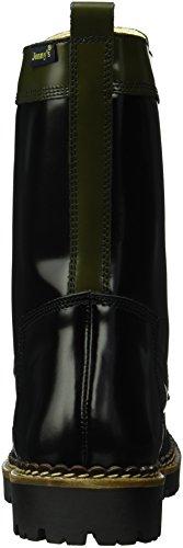 Jonny's - Vilda, Stivali a metà polpaccio con imbottitura leggera Donna Multicolore (Mehrfarbig (Negro / Gris))