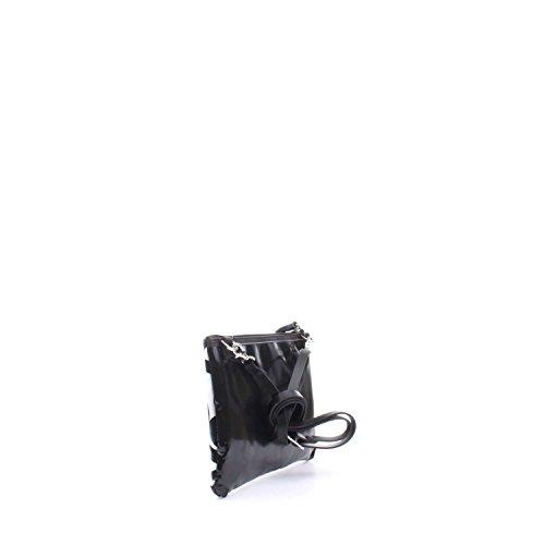 GABS l'épaule de sac à main de sac de femmes LARA-E17 P0083 ESSAI NUMÉROS BLANC NOIR Bianco-nero