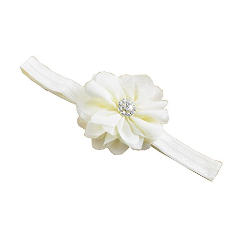 Kid Baby Girl Toddler Infant Surker Chiffon Flower Hair Band Accessoires cheveux