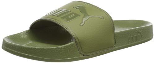 Puma leadcat, scarpe da spiaggia e piscina unisex-adulto, verde olivine, 44.5 eu