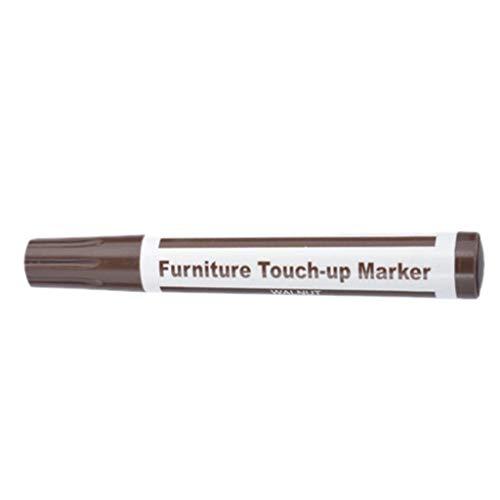Jintime 1 STÜCKE Möbel Korrektur Stift Holz Möbel Reparatur Stift Marker, Marker Stift Wachs Kratzer Entferner Reparatur Fix für Verkratzte Holzböden, Möbel, Tische (B) -