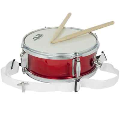 DB Percussion DB0100 - Caja infantil 10' x 4' 4 divabedul-bordon, color rojo