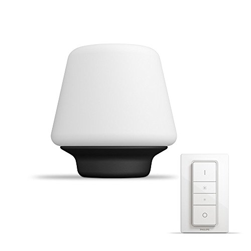 Philips Lighting Wellness Hue Lampada da Tavolo LED E27, 15 W, Bianco,...