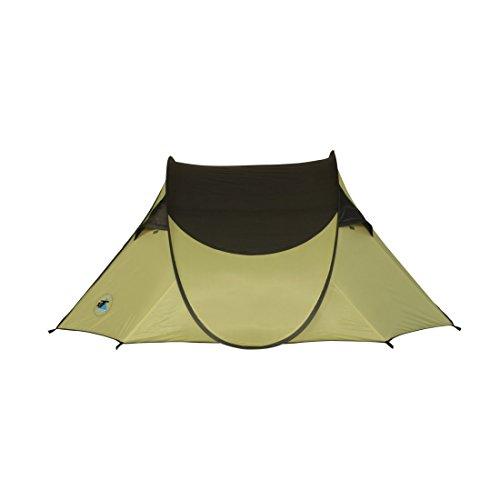 10T Taree 3 - Pop-Up Zelt für 3 Personen, Wurfzelt mit eingenähter Bodewanne, 2000mm -